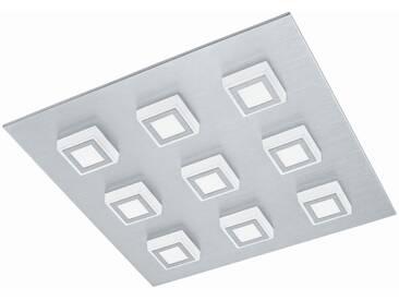LED Deckenleuchte Eglo Masiano 78641 Wandlampe Alu gebürstet