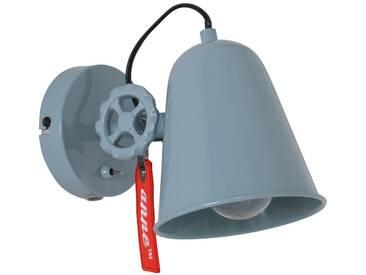 Deckenleuchte 1er Spot Steinhauer 1323G Wandlampe Vintage E27 Graugrün