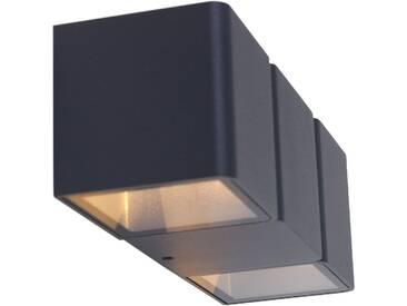 LED Außenleuchte Wandlampe Up & Down Effekt 2x 3W Steinhauer 1501ZW