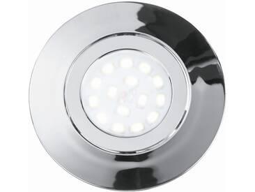 LED Einbauleuchte Badezimmer Deckenspot 5 Watt Eco-Light Strahler Chrom