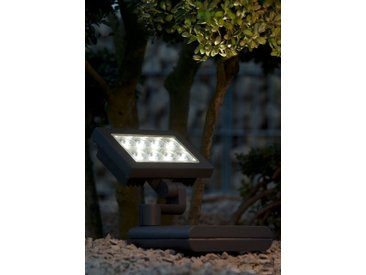 LED Außenstrahler Wandlampe 24 Watt Eco-Light Lutec Nevada 6101 S-GR