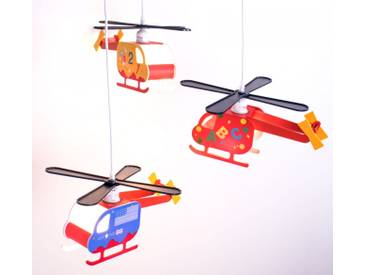 LED Kinder Pendelleuchte Hubschrauber Peters-Living Hawk Heli