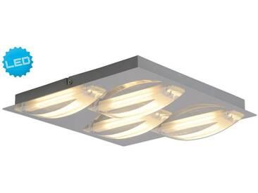 LED Deckenleuchte Näve Leuchten 1236842 Acrylglaswellen