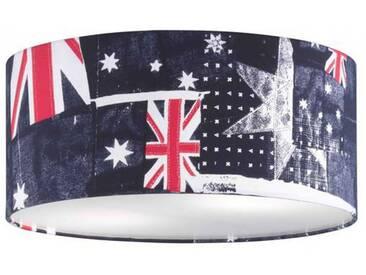 Deckenleuchte Stofflampe Honsel 23106 Union Jack