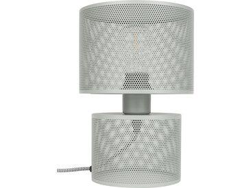 Tischlampe - Grid - Hellgrau