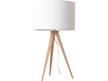 Tripod Wood - Tischlampe - Weiß/ Eiche