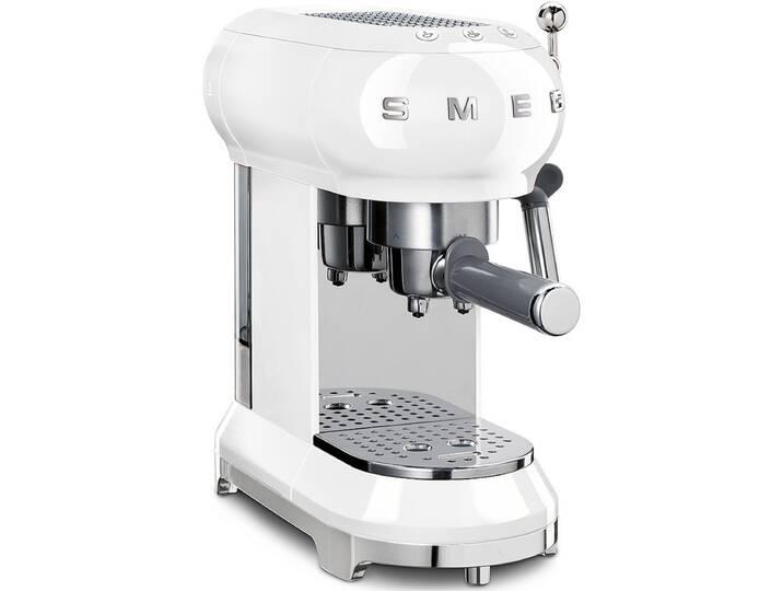 Smeg Espressomaschine ECF01WHEU - Weiß