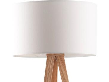 Lampenschirm - Tripod Stehleuchte - Weiß