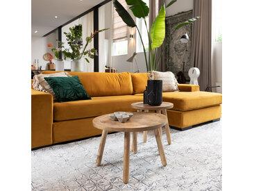 Sofa - Fiep Recamiere Rechts - Gelb