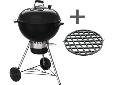 Weber Master-Touch GBS Holzkohlegrill inkl. Sear Grate Schwarz
