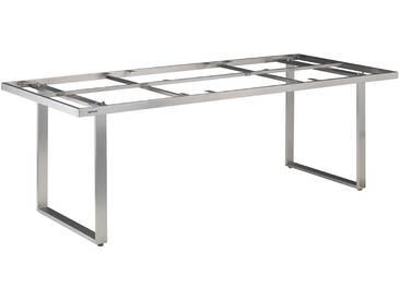Kettler Skate Tischgestell 160x95 cm Edelstahl Edelstahl