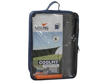 Nesling Coolfit Sonnensegel Rechteck 300x400cm HDPE Grau