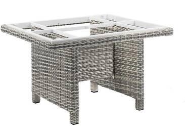Kettler Palma Modular Tischgestell 95x95 cm Geflecht Salt&Pepper