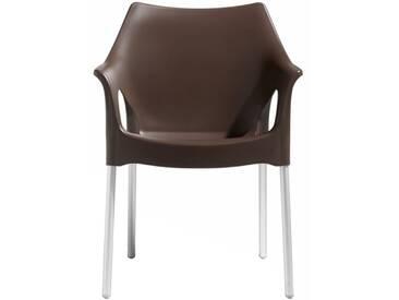Scab Design Ola Stapelsessel Aluminium/Kunststoff Ola