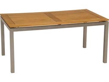 Stern Tischplatte 130x80cm Teak Natur