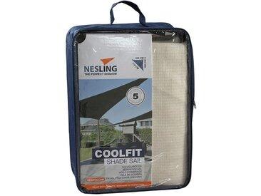 Nesling Coolfit Sonnensegel 3-eckig 500x500x710 HDPE Off-White