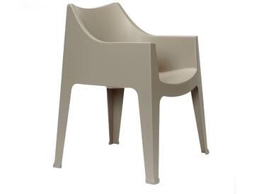 Scab Design Coccolona Stapelsessel Kunststoff Dove Grey