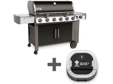 Weber Genesis II LX E-640 GBS + gratis iGrill 3 Thermometer