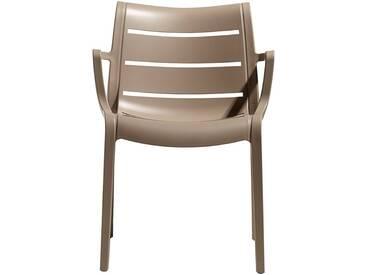 Scab Design Sunset Stapelsessel Kunststoff Dove Grey