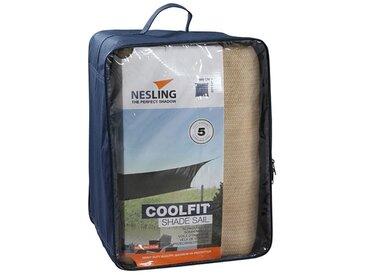Nesling Coolfit Sonnensegel Quadrat 500x500cm HDPE Sand