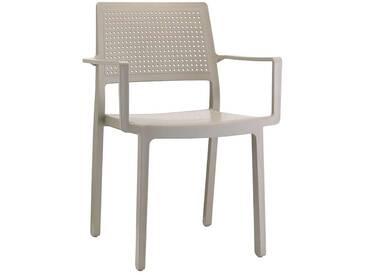Scab Design Emi Stapelsessel Kunststoff Dove Grey