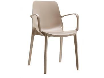 Scab Design Ginevra Stapelsessel Kunststoff Dove Grey