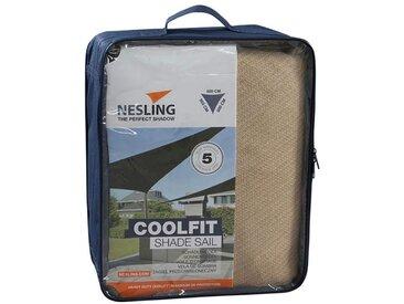 Nesling Coolfit Sonnensegel 3-eckig 500x500x500 HDPE Sand