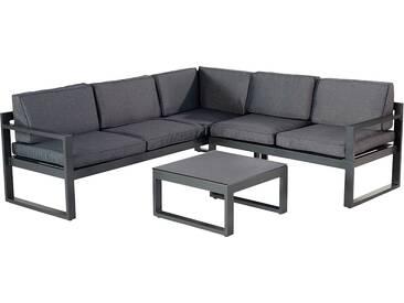 Hartman Perpignan Loungeecke 3-teilig Aluminium/Polster Xerix