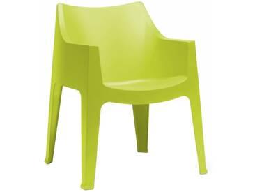 Scab Design Coccolona Stapelsessel Kunststoff Hellgrün