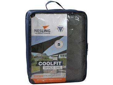 Nesling Coolfit Sonnensegel 3-eckig 500x500x500 HDPE Grau