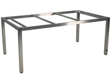 Zebra Opus Tischgestell 180x100cm Edelstahl