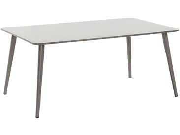 Hartman Sophie Studio Gartentisch 170x100 cm Aluminium/HPL Taupe