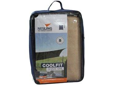 Nesling Coolfit Sonnensegel Rechteck 300x400cm HDPE Sand