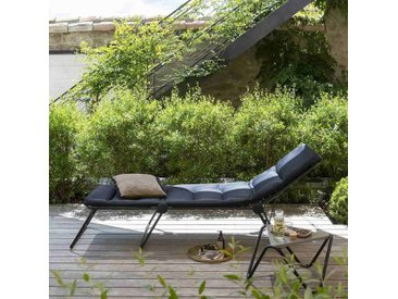 Lafuma Siesta L Dreibeinliege Stahl/Air Comfort® Schwarz/Acier