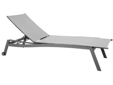 Stern Allround Rollliege Aluminium/Textilene Anthrazit/Silber