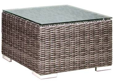 Zebra Glasplatte 55x55 cm zu Jack Junior Lounge Glas