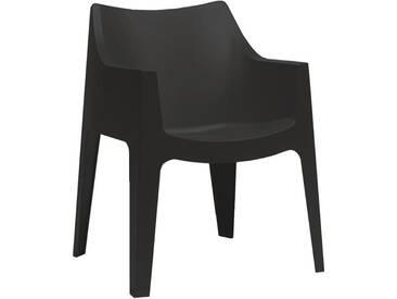 Scab Design Coccolona Stapelsessel Kunststoff Anthrazit