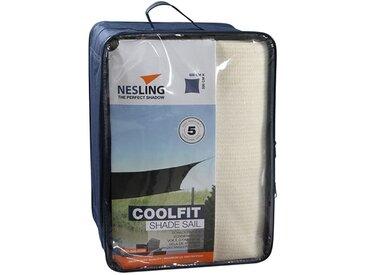 Nesling Coolfit Sonnensegel Quadrat 500x500cm HDPE Off-White
