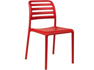 Nardi Costa Bistrot Stapelstuhl Kunststoff Rot