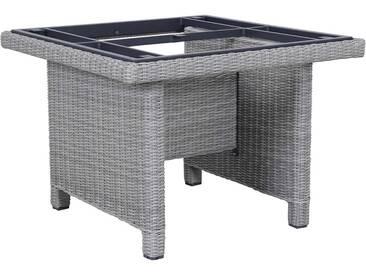Kettler Palma Modular Tischgestell 95x95cm Geflecht White-Wash