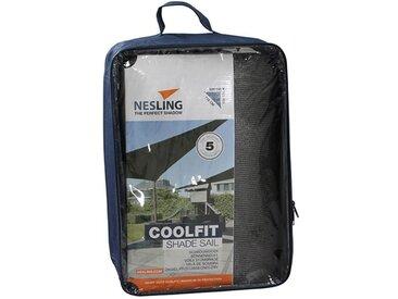 Nesling Coolfit Sonnensegel 3-eckig 500x500x710 HDPE Grau