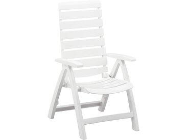 Kettler Rimini Klappsessel Kunststoff Weiß