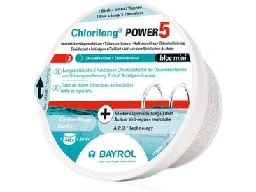 BAYROL Chlorilong® Power 5 Bloc Mini Chlortablette 340g