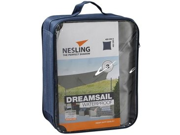 Nesling Dreamsail Sonnensegel Quadrat 400x400cm Polyester Grau