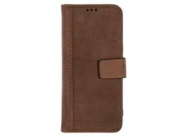 SCUTES DELUXE Booklet Case Handy-Hülle für SAMSUNG Galaxy S8 Plus braun