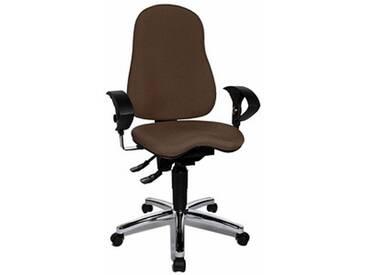 Topstar Sitness® 10 Bürostuhl braun