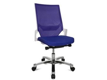 Topstar Autosynchron®-1 Alu Bürostuhl blau