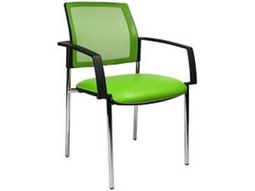 2 Topstar BtoB 10 Besucherstühle grün