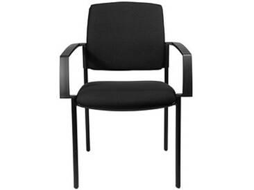 2 Topstar BtoB 10 Besucherstühle schwarz