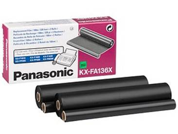 Panasonic KX-FA 136X schwarz Thermo-Druckfolien